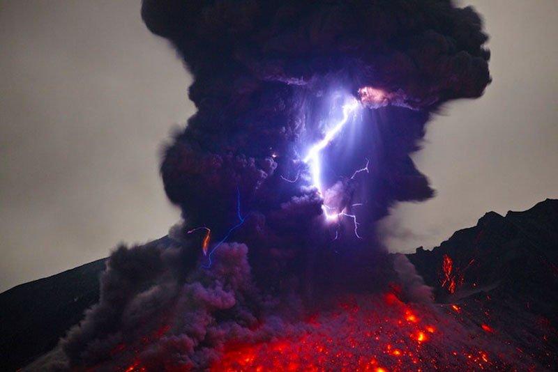 volcan sakurajima japón