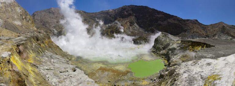 Volcán White Island o Whakaari