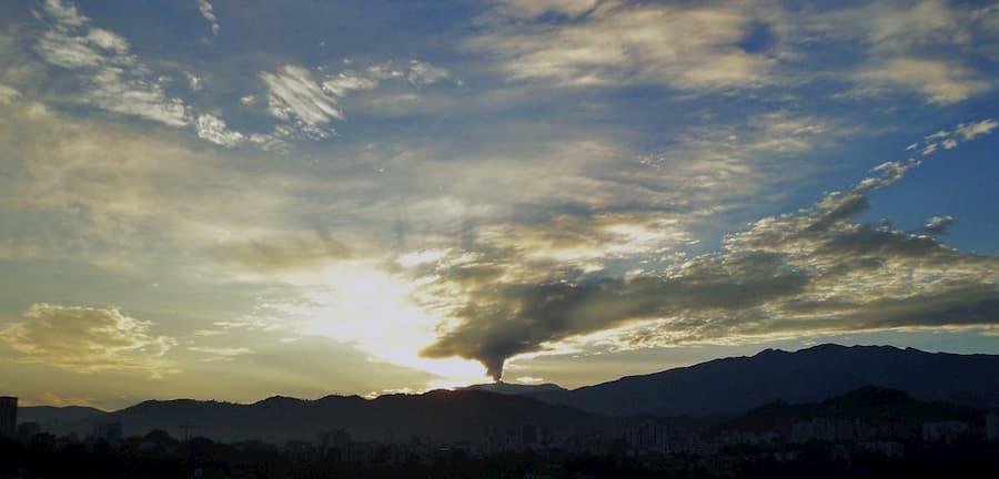 volcan Nevado del Riuz Colombia