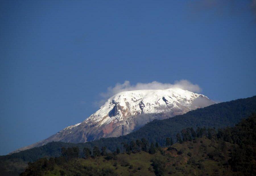 volcan nevado del huila colombia
